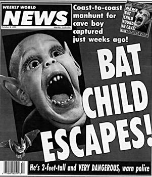 Bat Child Escapes!