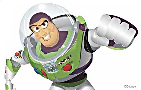 Buzz Lightyear from Dismey's Toy Story