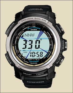 Casio Pathfinder PAW2000 - the perfect nature photographer's watch