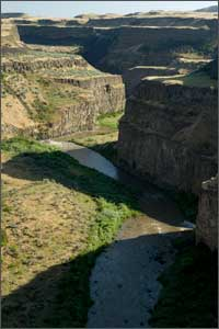 Palouse Falls before optimization