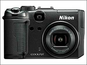 Nikon COOLPIX P6000 (image courtesy of Nikon)
