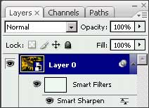Smart Sharpen as a Smart Filter in Photoshop CS3. Pretty smart indeed.