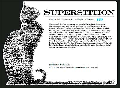 Photoshop CS6 Beta - Superstition