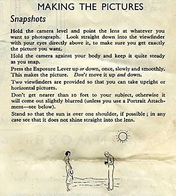 Bad advice from early Kodak days