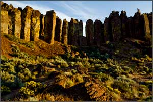 The shadows are all blocked up in this original capture from Frenchman Coulee in eastern Washington