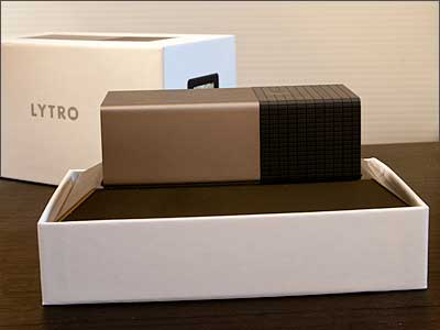The long-awaited Lytro unboxing