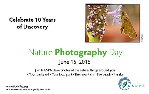 NANPA 10th Annual Nature Photography Day