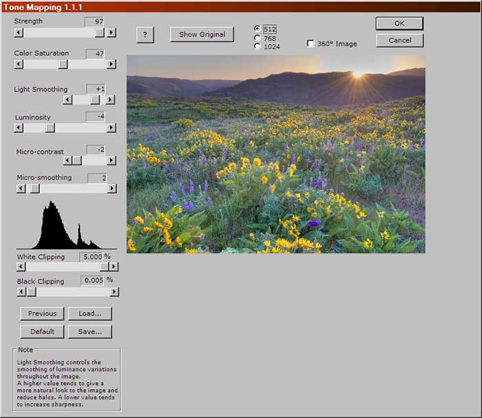 The Photomatix HDR Tone Mapping plug-in