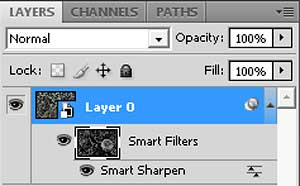 Lots of Smart things in the Layers panel