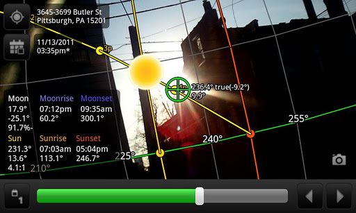 Sun Surveyor Augmented Reality Camera
